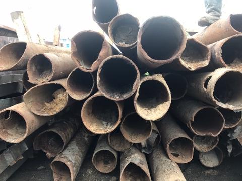Демонтаж стальных труб цена за метр